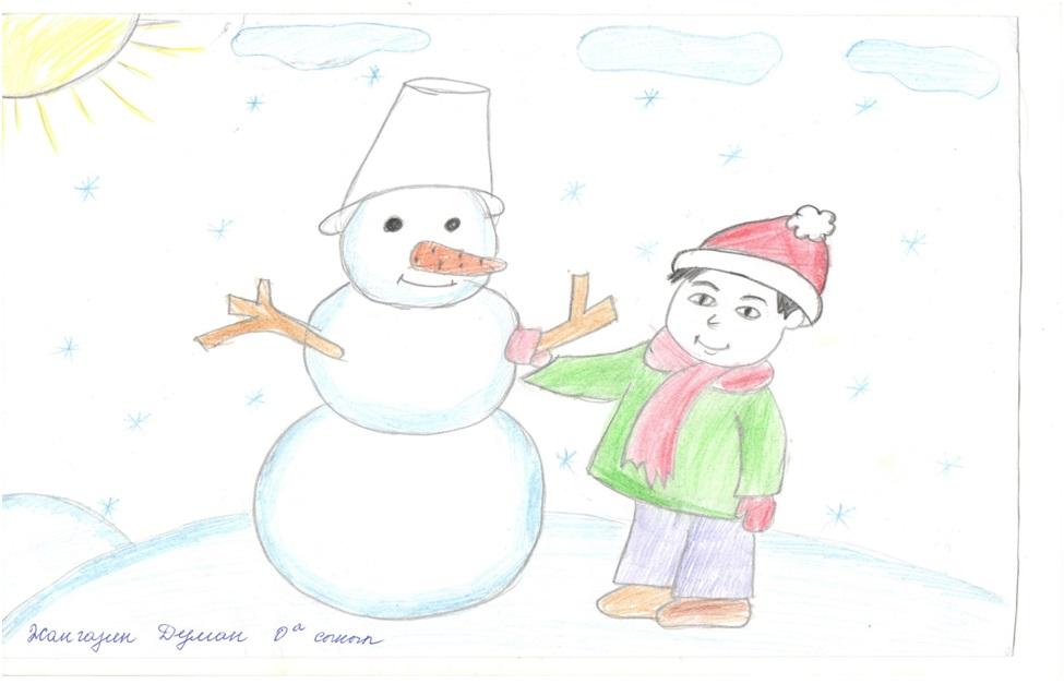 Рисунки на конкурс для деда мороза