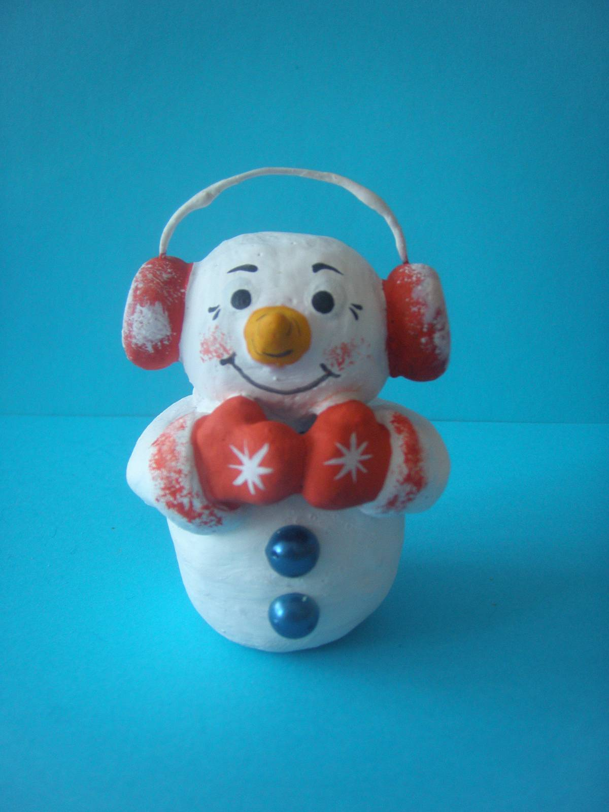 Весёлый снеговик поделка 84