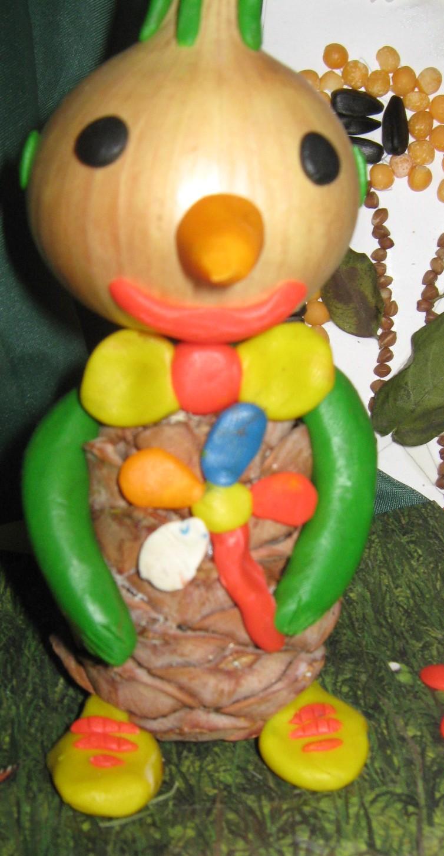 Поделки из овощей для детсада и школы, мастер-классы 58